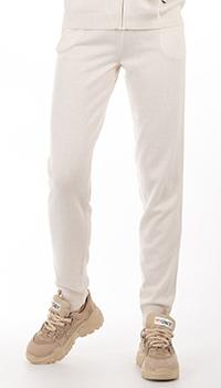 Кашемировые брюки GD Cashmere в белом цвете, фото