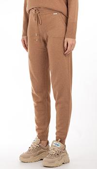 Кашемировые брюки GD Cashmere с накладными карманами, фото