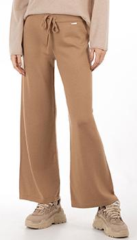 Шерстяные брюки GD Cashmere коричневого цвета, фото