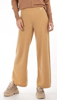 Кашемировые брюки GD Cashmere бежевого цвета, фото