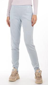 Голубые кашемировые брюки GD Cashmere с карманами, фото
