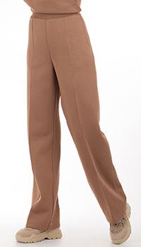 Хлопковые брюки GD Cashmere с начесом, фото