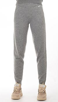 Кашемировые брюки GD Cashmere серого цвета, фото
