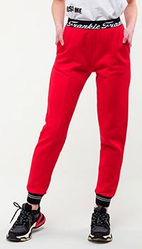 Спортивные брюки Frankie Morello красного цвета, фото