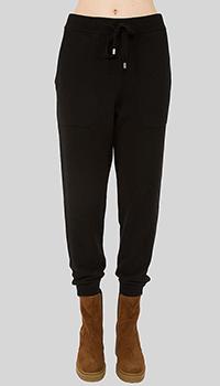 Черные спортивные брюки MRZ укороченные, фото