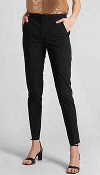 Классические брюки Frankie Morello черного цвета, фото