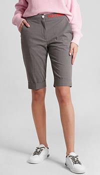 Женские шорты Frankie Morello серого цвета, фото