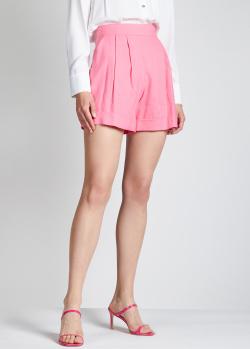 Розовые шорты Hebe Studio с защипами, фото