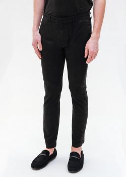 Черные укороченные брюки Hugo Boss , фото