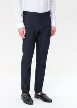 Мужские брюки Hugo Boss Hugo синего цвета, фото
