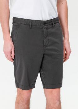 Мужские шорты Hugo Boss серого цвета, фото