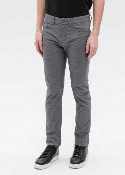 Серые брюки Hugo Boss средней посадки, фото