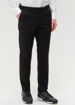 Классические брюки Hugo Boss черного цвета, фото