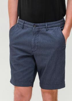Синие шорты Hugo Boss с карманами, фото