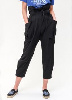 Черные брюки Kenzo с высокой талией, фото