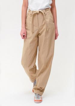 Широкие брюки Kenzo бежевого цвета, фото