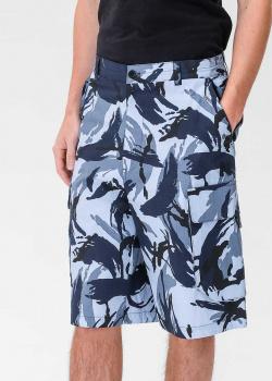 Мужские шорты Kenzo с абстрактным принтом, фото