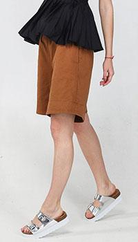 Широкие шорты Kaos с высокой талией, фото