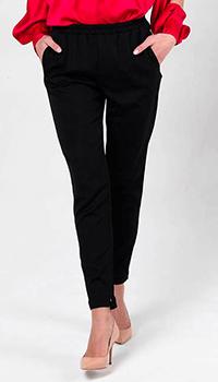 Черные брюки Love Moschino на резинке, фото