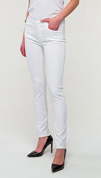 Брюки Love Moschino с вышивкой на кармане, фото