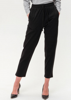 Черные брюки Max Mara Weekend на кулиске, фото