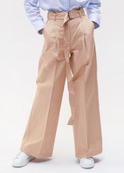 Расклешенные брюки Max Mara Weekend с поясом, фото