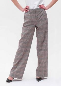 Широкие брюки Max Mara Weekend в клетку, фото