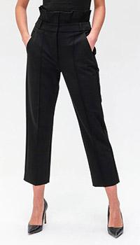 Прямые брюки Max Mara Weekend черного цвета, фото