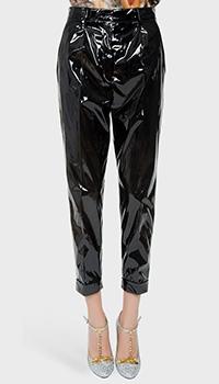 Зауженные брюки N21 черного цвета, фото