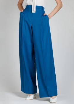 Брюки-палаццо Nina Ricci синего цвета, фото