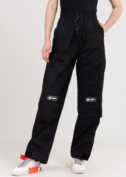 Плащевые брюки-карго Off-White с высокой талией, фото