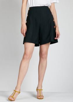 Широкие шорты Patou черного цвета, фото