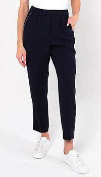 Синие брюки Peserico с тонкими лампасами, фото