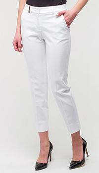 Классические брюки Peserico белые, фото