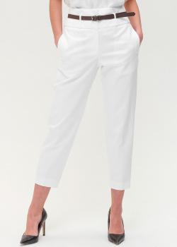Белые брюки Peserico с карманами, фото
