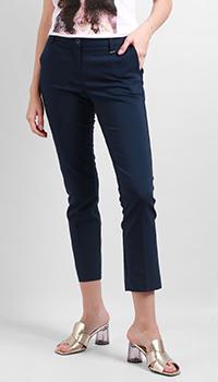 Зауженные брюки Silvian Heach синего цвета, фото