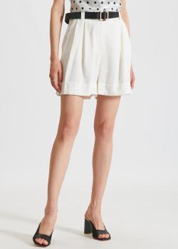 Широкие шорты Silvian Heach белого цвета, фото