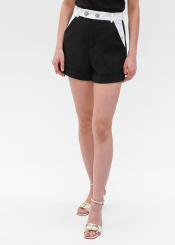 Короткие шорты Philipp Plein черного цвета, фото