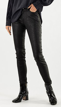 Кожаные брюки Zadig & Voltaire в черном цвете, фото