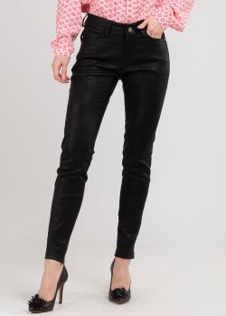 Кожаные брюки Zadig & Voltaire зауженного кроя, фото