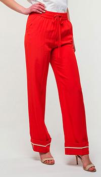 Брюки Red Valentino с эластичным поясом, фото
