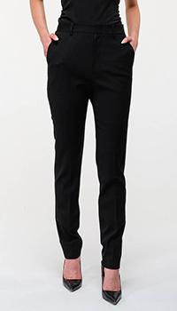 Классические брюки Red Valentino в черном цвете, фото