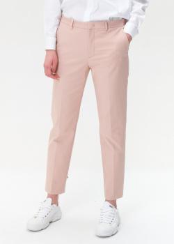 Укороченные брюки Red Valentino розового цвета, фото