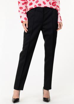 Черные брюки Rochas прямого кроя, фото