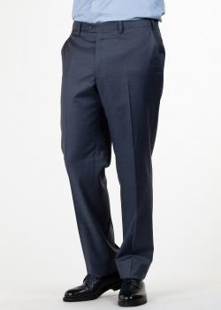 Шерстяные брюки Brioni сегого цвета, фото