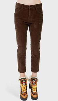 Бриджи Dsquared2 коричневого цвета, фото
