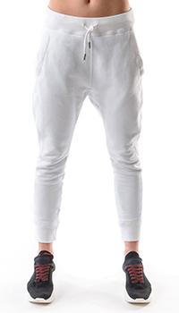 Спортивные брюки Dsquared2 белого цвета, фото