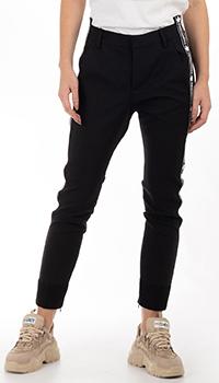 Укороченные брюки Dsquared2 с лампасами, фото