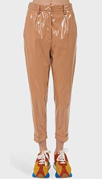 Укороченные брюки N21 бежевого цвета, фото