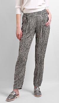 Зауженные брюки Max&Moi с защипами, фото